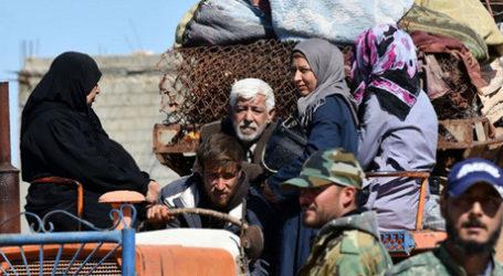 PBB: Lebih 920.000 Orang Mengungsi Dalam Enam Buan Pertama 2018  di Suriah