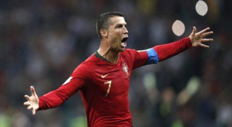 Hat-trick Ronaldo Imbangi Spanyol 3-3