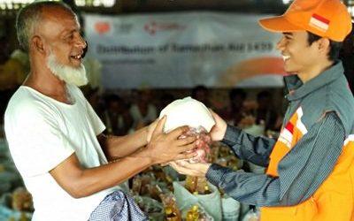 Rumah Zakat Distribusikan Bantuan untuk 4.750 Muslim di Myanmar pada Ramadhan