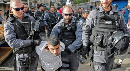 Pasukan Pendudukan Israel Tangkap Sembilan Warga Palestina di Tepi Barat