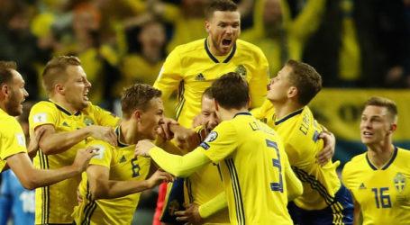 Penalti Swedia Kalahkan Korea Selatan 1-0