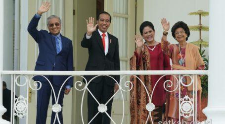 Presiden Jokowi dan PM Mahathir Bahas Penguatan Hubungan RI-Malaysia
