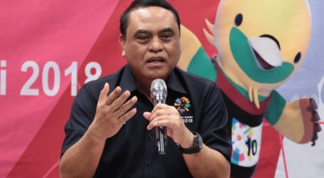 CdM Syafruddin Optimis Indonesia Masuk 10 Besar di Asian Games 2018