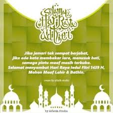 Khutbah Idul Fitri 1439 Majelis Dakwah Pusat (MDP) Jama'ah Muslimin (Hizbullah)