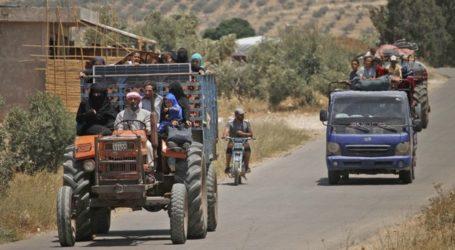 150.000 Orang Tinggalkan Daraa Sejak Pasukan Assad Lakukan Serangan