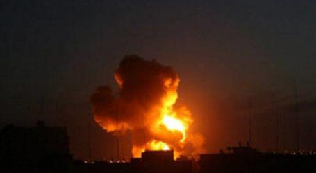 Pesawat Israel Bombardir Lokasi Perlawanan di Gaza