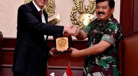 Panglima TNI Terima Kunjungan KehormatanWakil Perdana Menteri Singapura