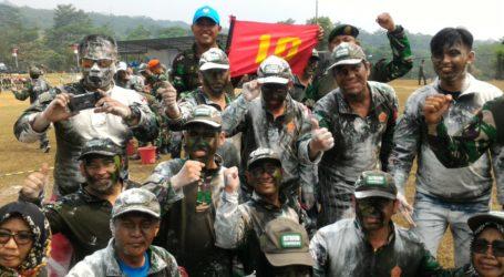 Peringati HUT ke 73, TNI Gelar Outbound Bareng Wartawan