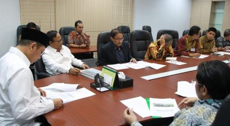 Bertemu Menag, Panitia Sampaikan Progres Pembangunan UIII
