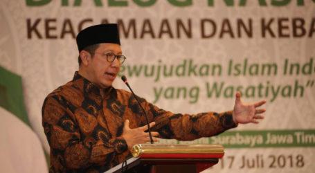 Menag Apresiasi Rumusan Dialog Nasional Keagamaan dan Kebangsaan