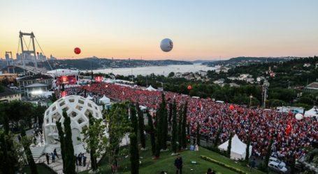 Jutaan Orang Turki Peringati Kudeta Gagal
