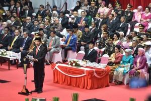 Jokowi: Indonesia Masuk 10 Daftar Negara Teraman