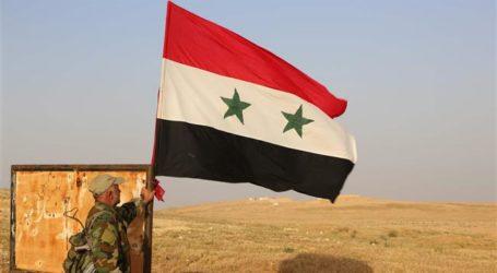 Tentara Suriah Masuki Daraa,  Kibarkan Bendera