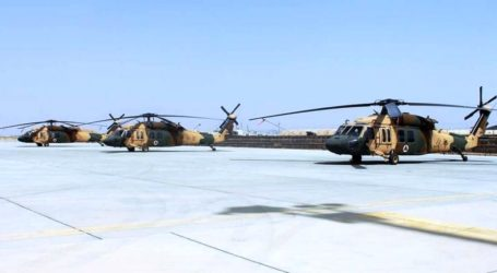 Militer Afghanistan Terima Tiga Helikopter Black Hawk