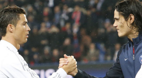 Dua Gol Cavani Kalahkan Portugal, Kirim Ronaldo Susul Messi