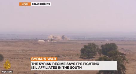Suriah Bombardir Wilayah Oposisi Terakhir,  Israel Siaga Tinggi