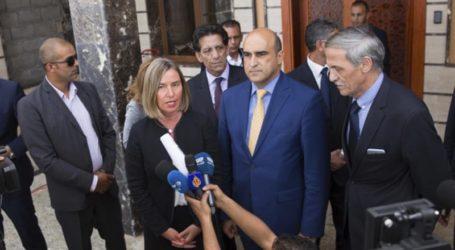 Federica Mogherini Kunjungi Libya untuk Buka Kembali Misi Uni Eropa