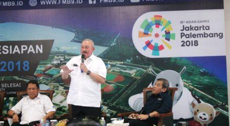 Siap Gelar Asian Games 2018, Alex Noerdin: Palembang Zero Conflict