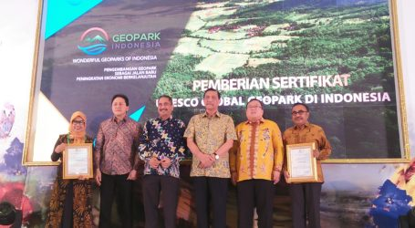 Geopark Solusi Alternatif Bangkitkan Ekonomi Indonesia