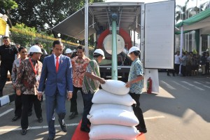 Banyak Produk Ekspor, Jokowi Apresiasi Perkembangan Peternakan di Tanah Air