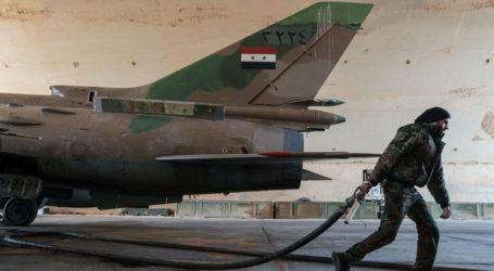 Israel Tembak Jatuh Jet Tempur Suriah
