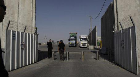 Israel Buka Kembali Penyeberangan Jalur Gaza