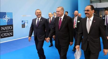 Presiden Turki Hadiri KTT NATO di Brussel