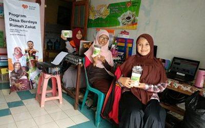 Rumah Zakat Bina Usaha RuciQu dan Melody Stuff Jangkau Pasar Digital