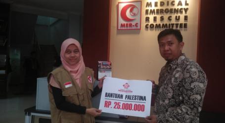 Masjid Raya Batam Salurkan 25 Juta untuk Pembangunan RS Indonesia Gaza Tahap Dua