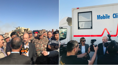 PM Yordania Kunjungi Perbatasan yang Tertutup Bagi Pengungsi Suriah