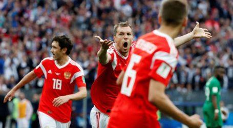 Rusia-Spanyol Adu Penalti, Tuan Rumah Lolos ke Perempat Final