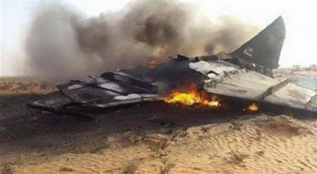 Houthi Yaman Tembak Jatuh Pesawat Jet Tempur Saudi