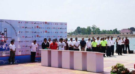 Presiden Jokowi Resmikan Lima Venue Asian Games di JSC Palembang