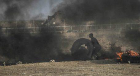 Israel Serang Posisi Hamas Ahad Malam