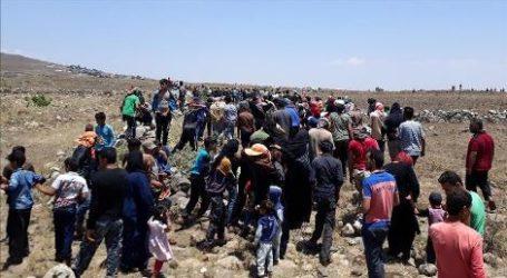 Terpepet ke Perbatasan Golan Yang Diduduki Israel