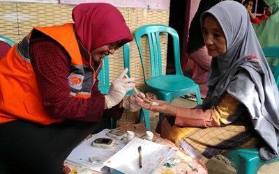 Rumah Zakat Makassar dan Cita Sehat Foundation Adakan Ramah Lansia
