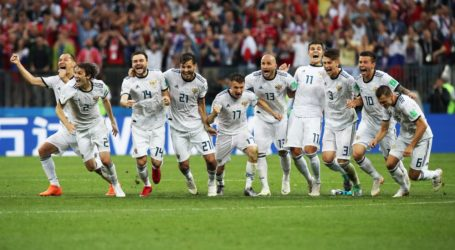 Rusia vs Kroasia, Adu Gengsi Dua Tim Kejutan