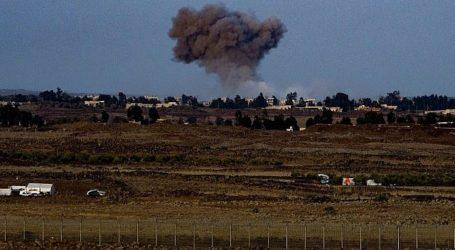 Pesawat Israel Tembaki Suriah Selatan Respon Roket ke Golan