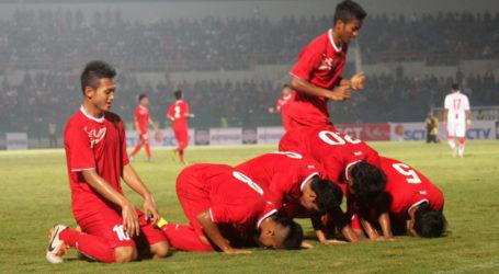 Timnas U-19 Indonesia Sapu Singapura 4-0