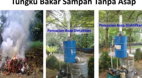 Tungku Bakar Sampah Tanpa Asap (Oleh: Dr. Hayu S. Prabowo)