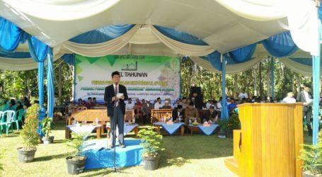 Ponpes Al-Fatah Lampung Gelar Apel Tahunan