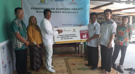 Jamkrindo Syariah-BAZNAS Kembangkan Desa Kreatif di Yogyakarta