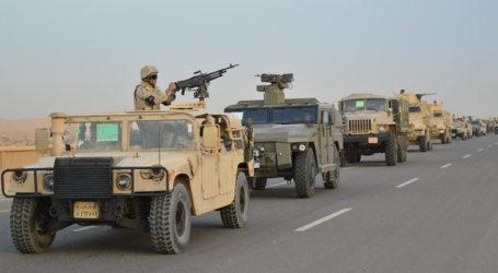 Pasukan Keamanan Mesir Tewaskan 11 Militan di Sinai