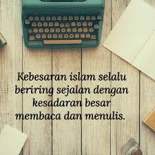 Ulama Salaf Pun Membaca dan Menulis
