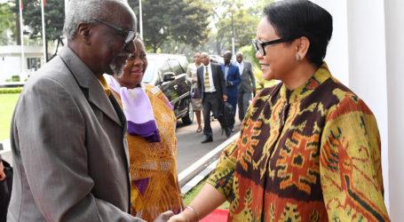Menlu Retno Dorong Perluasan Pasar dengan Uganda dan Afrika Timur