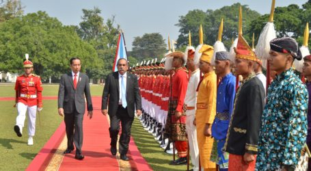 Presiden Federasi Serikat Mikronesia Kunjungi Indonesia