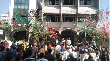 Pernikahan Indonesia-Palestina Kokohkan Persaudaraan dan Persatuan