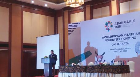Pesan Wagub DKI Kepada Relawan Asian Games 2018
