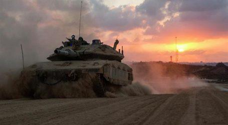 Militer Israel Lakukan Simulasi  Penyerangan Kota Gaza