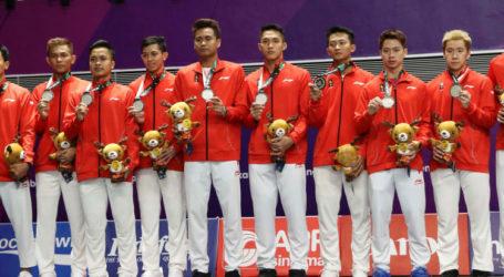 Tim Badminton Indonesia Harus Puas dengan Medali Perak